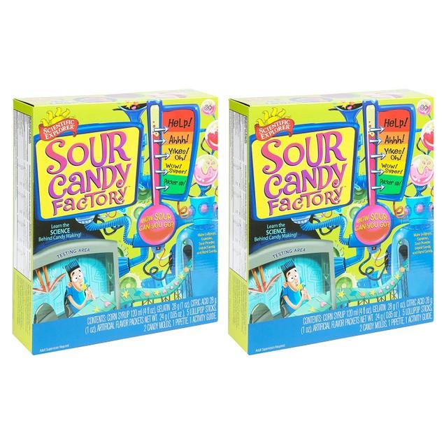 Scientific Explorer Candy Factory Activity Sets (2-Pack)