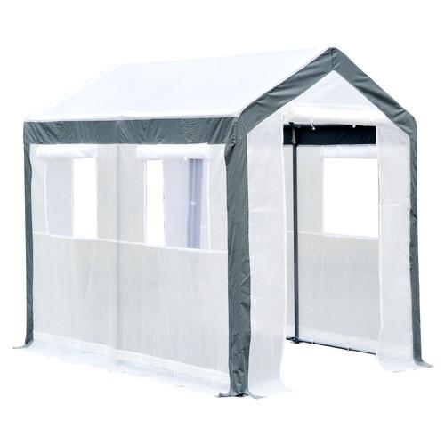 8' x 6' x 7.4' Walk-In Greenhouse Tunnel Portable Plant Garden Steel Frame