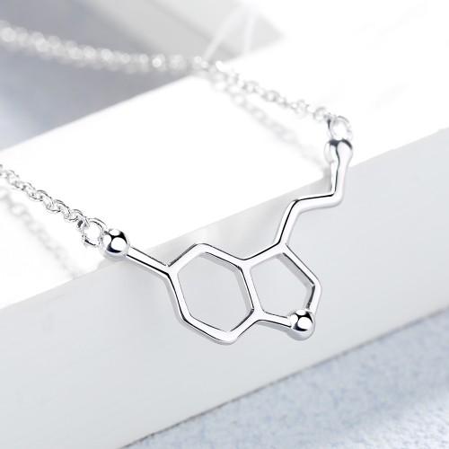 Sterling Silver Serotonin Necklace Pendant