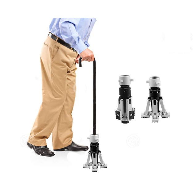 Ultra-Grip Walking Stick Buddy with Anti-Shock Springs
