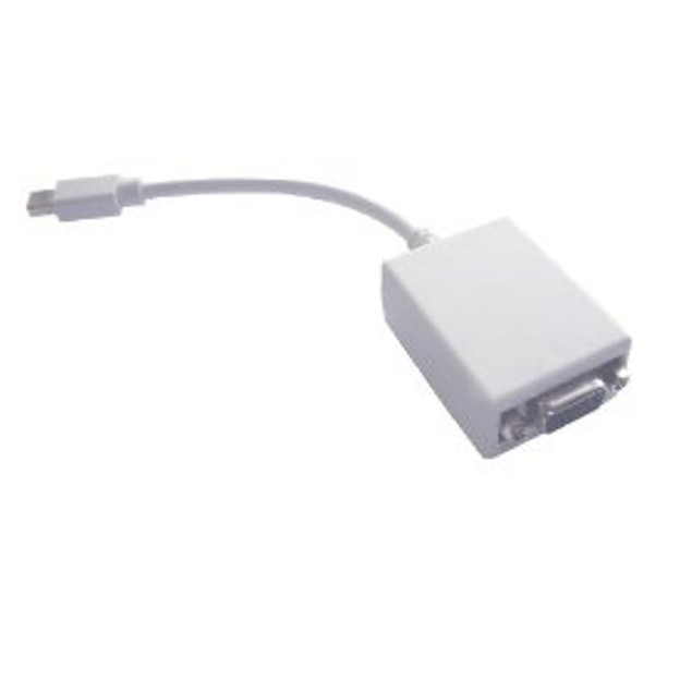 Mini DisplayPort / Thunderbolt Video to VGA Female Adapter - 6 Inches