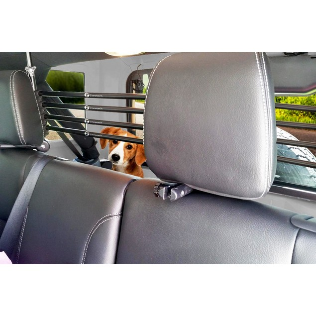 Zone Tech Universal Pet Barrier Cage Adjustable Mounted Headrest