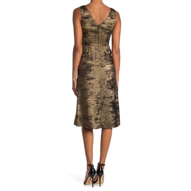 Bailey 44 Sofia 100% Polyester Sleeveless Twist Front Jacquard Dress, 4,