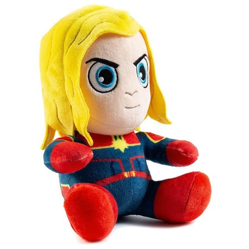 "Captain Marvel Sitting Kidrobot 7"" Plush"