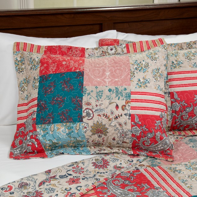 Lavish Home 2 Piece Mallory Quilt Set - Twin