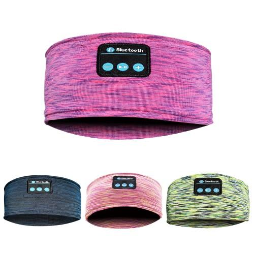 Wireless Bluetooth Sports Headband Headphones Running Sleeping Music Headset