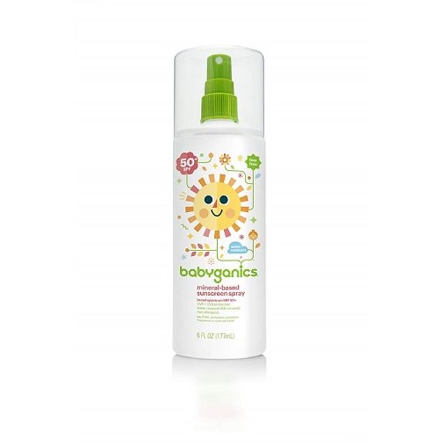 Babyganics SPF 50+ Sunscreen Spray (OVERSTOCK SALE)