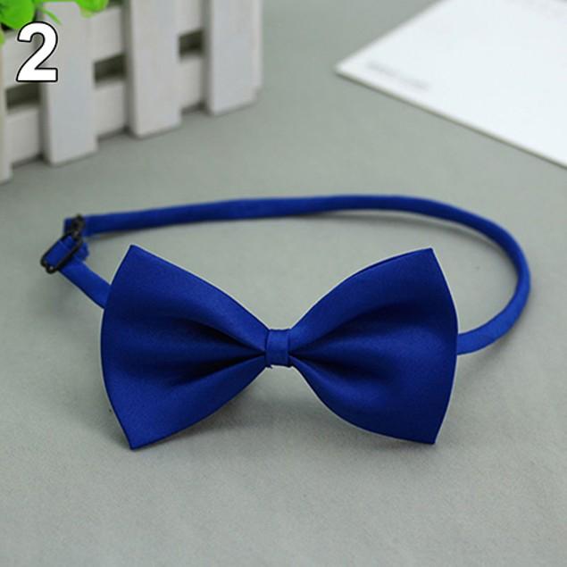 Solid Color Adjustable Cat Bowtie Pet Dog Bowknot Necktie Tie