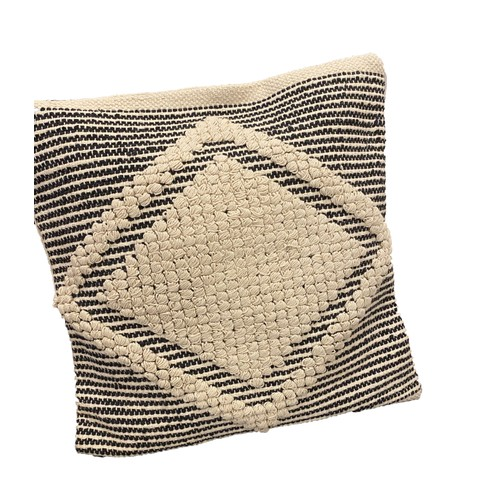 Spura Home Traditional Apartment Style Beige Moroccan Pillows 18x18