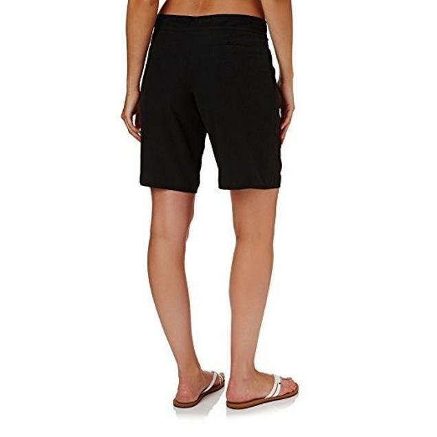 Seafolly Women's High Water Boardshorts Black Swimsuit Bottoms SZ: M
