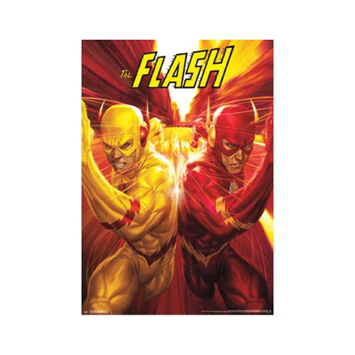 The Flash Race Poster