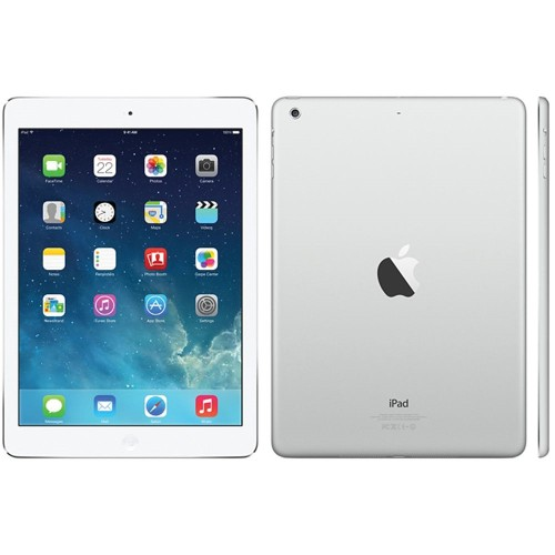 "Apple iPad Air MD788LL/A 9.7"" 16GB WiFi, Silver (Refurbished)"