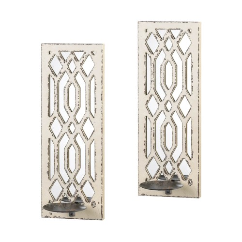 Gallery of Light Deco Mirror Wall Sconce Set