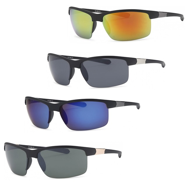 4-Pack Wrap Around Men Sunglasses
