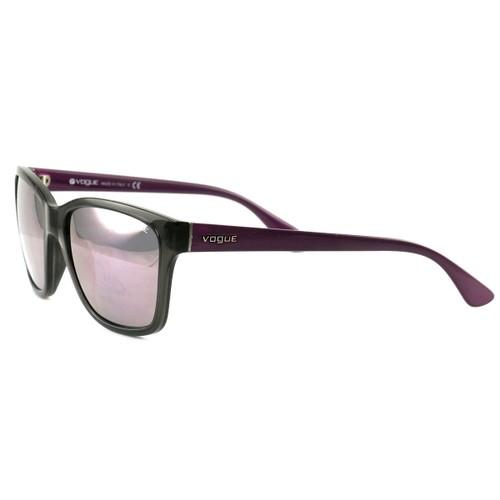 Vogue Sunglasses VO2896-S 1905/5R Transparent Grey/Violet/Pink Plastic 54 17 140