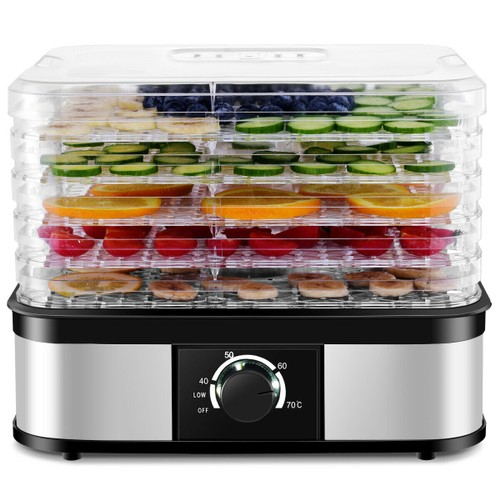 Costway 5-Tray Food Dehydrator with Temperature Control