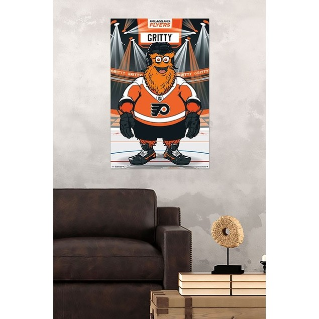 Philadelphia Flyers Gritty Poster