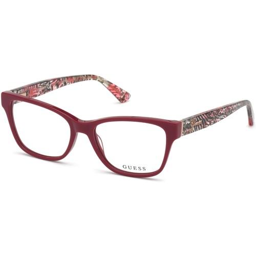 Guess Womens Eyeglasses GU2781V 072 Pink 52 16 140 Frames Oval