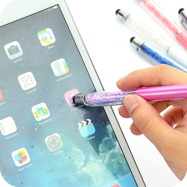 4-Pack: Ballpoint Pen & Sylus for Mobile Devices