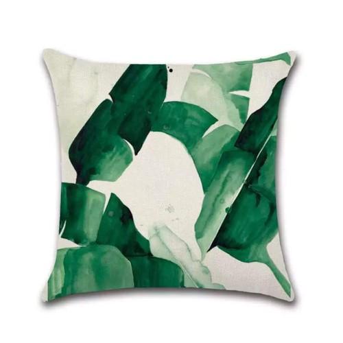 Decorative Pillowcases Hypoallergenic  Linen Cushion Watercolor