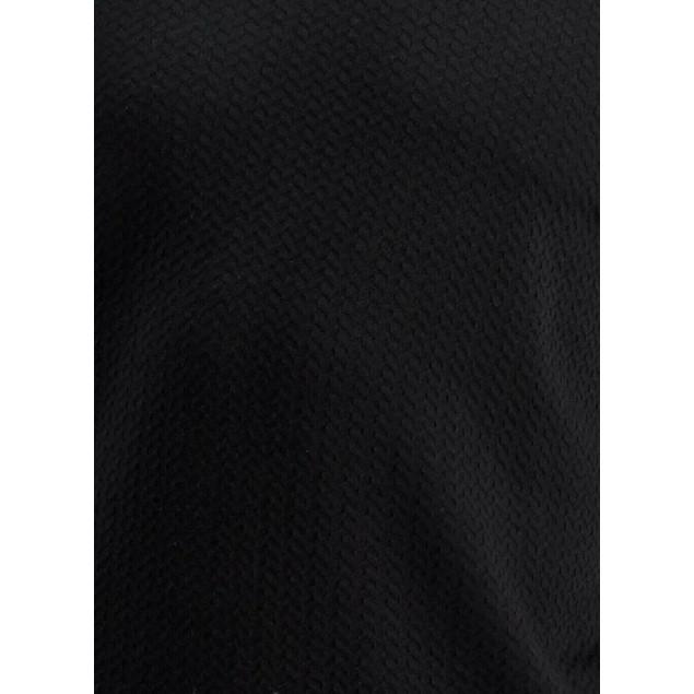 Tasso Elba Men's Crossover Sweater  Black Size Medium