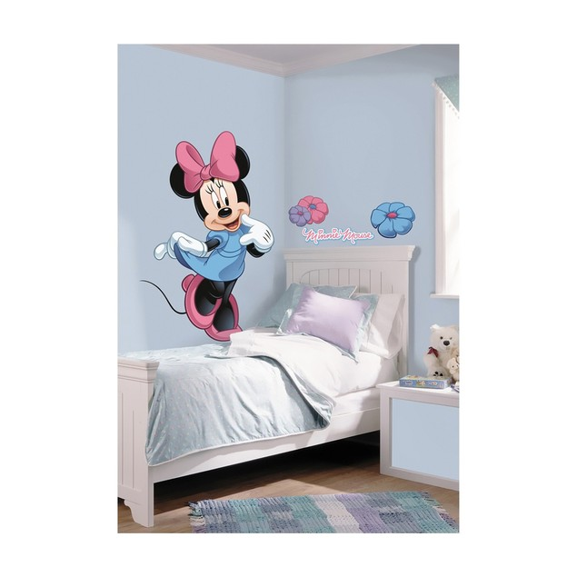 Roommates Nursery Baby Room Wall Decorative Minnie Mouse Giant Wall Decal