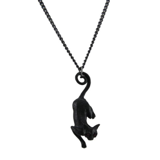 Cat With Pendant Womens Pendant Necklaces