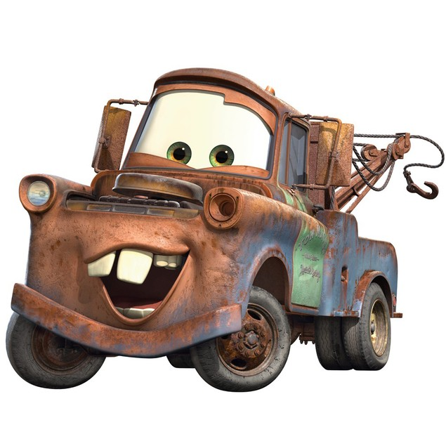 Roommates Nursery Baby Room Wall Decorative Cars Mater Giant Wall Decal