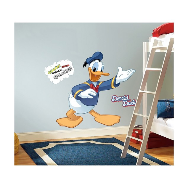 Roommates Nursery Baby Room Wall Decorative Donald Duck Giant Wall Decal