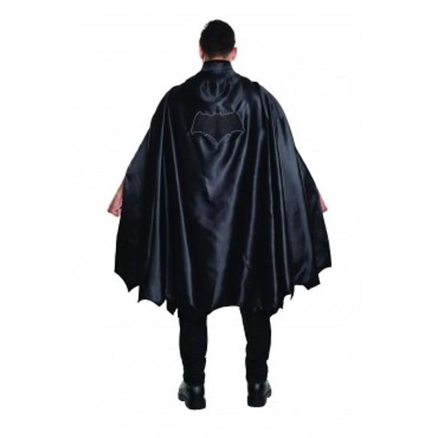 Deluxe Batman Cape v Superman Dawn of Justice Super Hero Black DC Adult