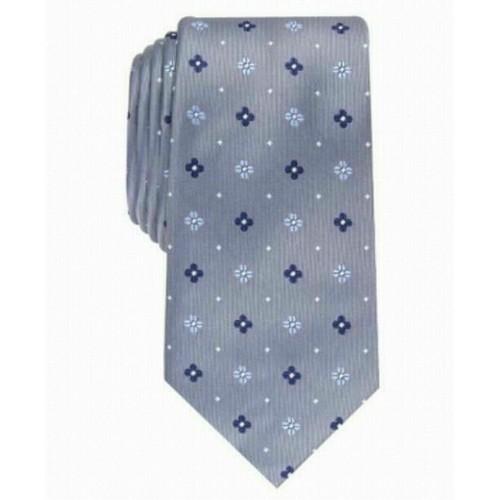 Club Room Men's Classic Neat Tie Gray Size Regular
