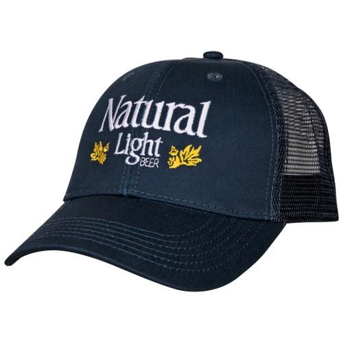 Natural Light Beer Vintage Laurels Flatbill Adjustable Snapback Hat