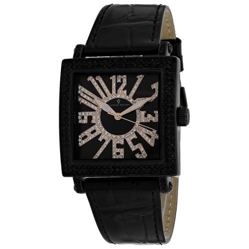 Christian Van Sant Women's Black Dial Watch - CV0244