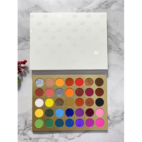 35 Colors Smoky Makeup Eyeshadow Warm Color Earth Color Natural Color
