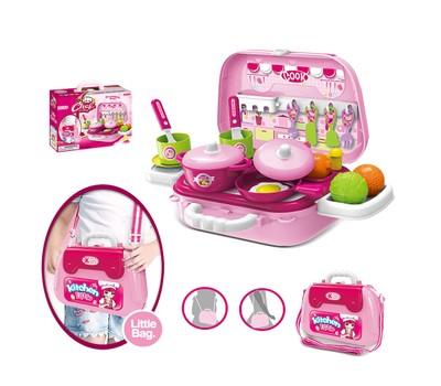 Kitchen Little Kitchenware Shoulder Bag Kids Mini Playset Dollhouse Children Toy Was: $39.99 Now: $18.49.