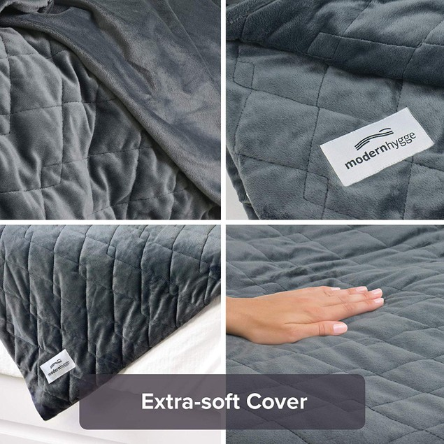 "Premium Weighted Blanket for Adults (20 lbs, 60"" x 85"")"