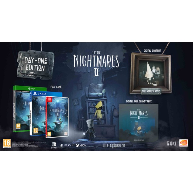 Little Nightmares II Day One Edition PS4 Game