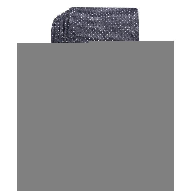 Perry Ellis Men's Ruthven Micro-Dot Tie Black Size Regular