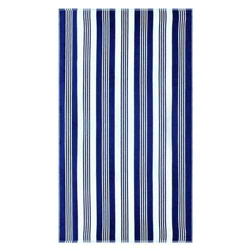 100% Cotton Maui Stripes Oversized Beach Towel