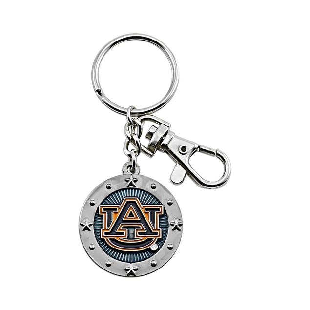 Auburn Tigers NCAA Impact Metal Key Ring Keychain