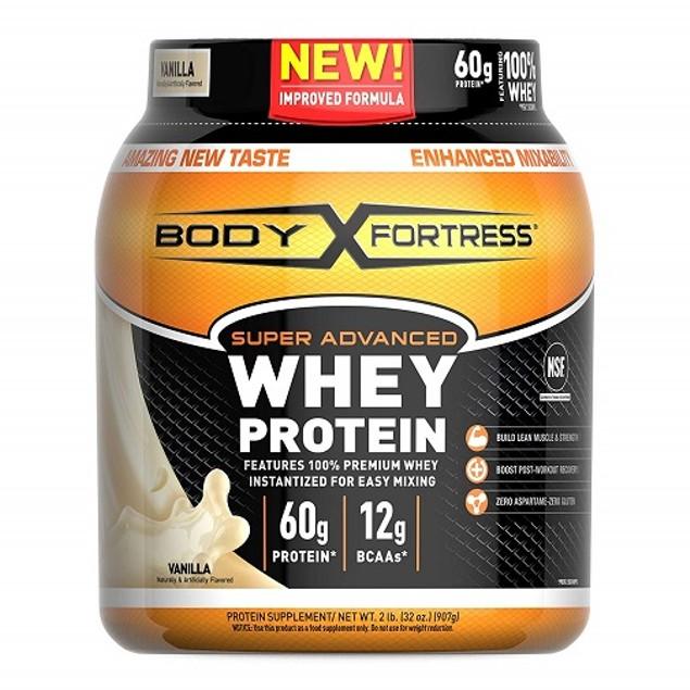 Body Fortress Vanilla Whey Protein