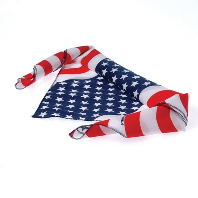 American Flag Bandana USA Stars And Stripes 100% United States Patriotic