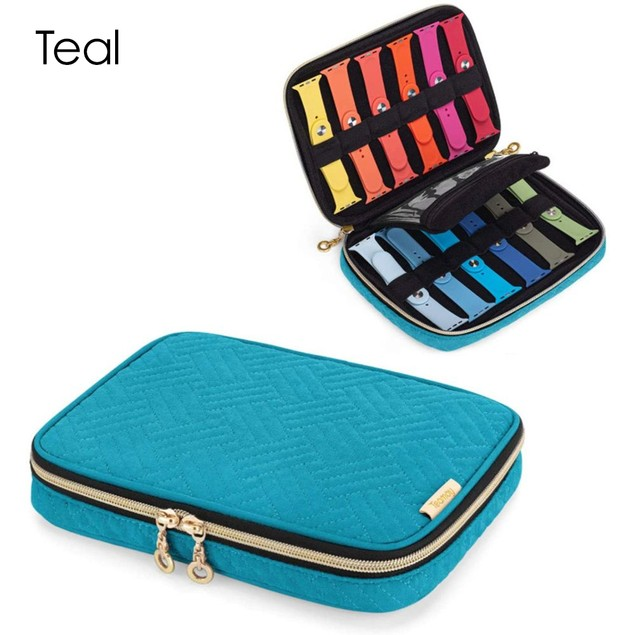 12-Piece Apple Watch Band Travel Case | 3 Colors