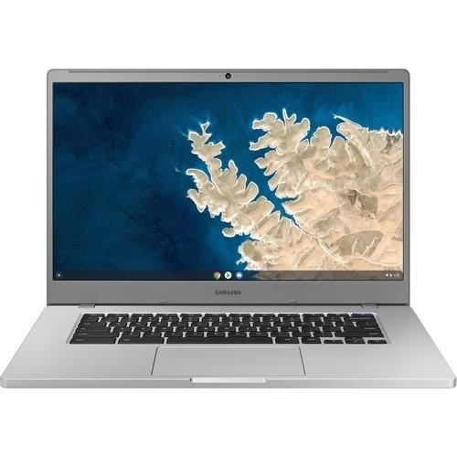 "Samsung Chromebook 4 Plus 15.6"" 128GB Chrome OS,Platinum Titan"