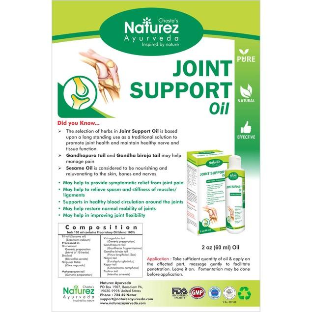 Naturez Ayurveda Kit -100%Natural Arthritis Joint Pain Relief