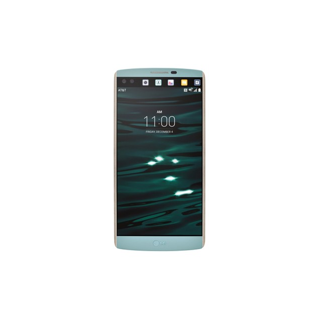 LG V10, AT&T, Blue, 64 GB, 5.7 in Screen