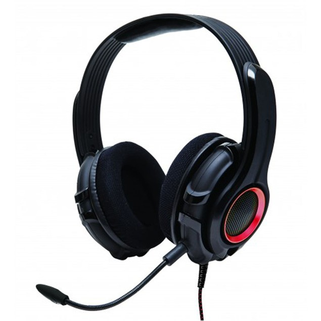 Cruiser PC200 Stereo Gaming Headset With Detachable Boom Microphone
