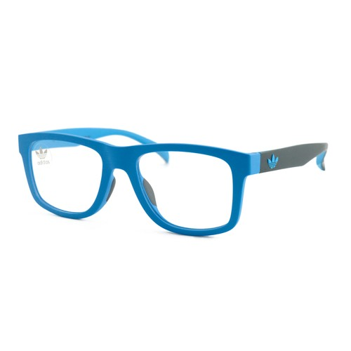 Adidas Men Eyeglasses Blue Square AOR000O.027.027 Full Rim