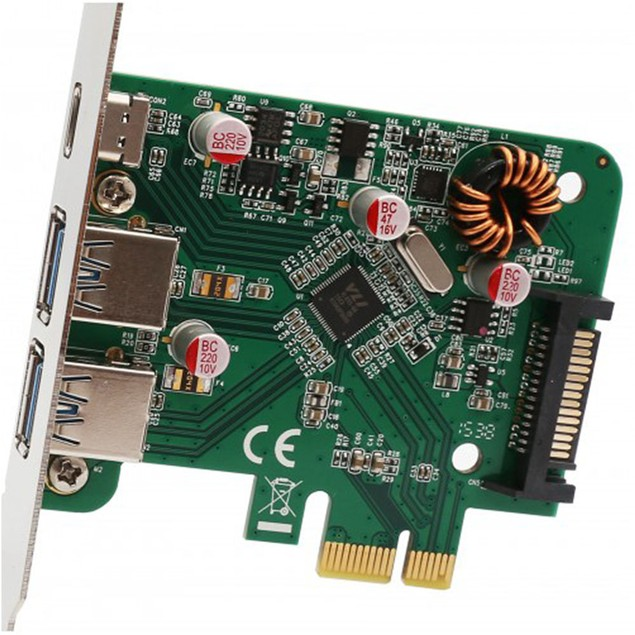 USB 3.1 5Gbps Multiport PCI-Express Host Card