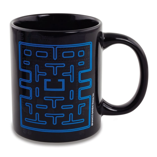 Pac-Man Heat Changing Mug Pac Man Video Game Coffee Tea 10 oz Drinkware